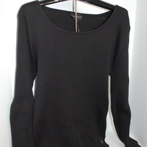 NWT Lane Bryant Black Pullover Sweater Top 22 / 24